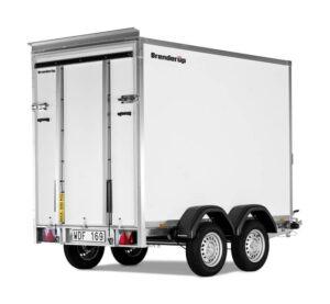 lukket trailer - Brenderup 7350 TBR – 2500 kg